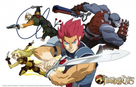 Thunder Cats Anime on Anime News Blog    Blog Archive    First Look At Anime Thundercats