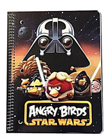Angry Birds Star Wars notebook