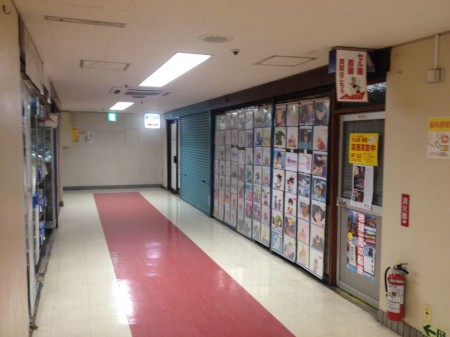 Anime cells shop Commit (entrance on the left) doesn't allow photos.