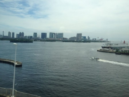 Fuji TV from Rainbow Bridge