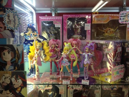 Loose Pretty Cure figures started at $8