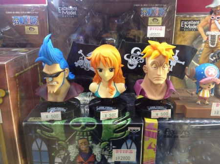 One Piece busts for $5 each