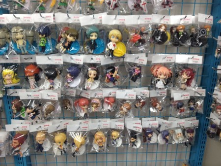 Fate/Stay Night and Monogatari series figs starting at $3 each
