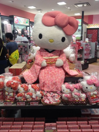 Hello Kitty in Divers City