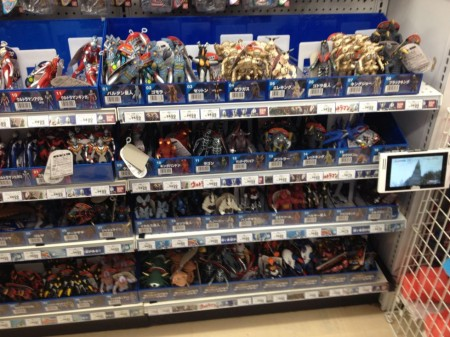 Ultraman toys at Odaiba Toys'R'Us