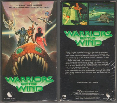 Warriors_of_the_Wind_VHS