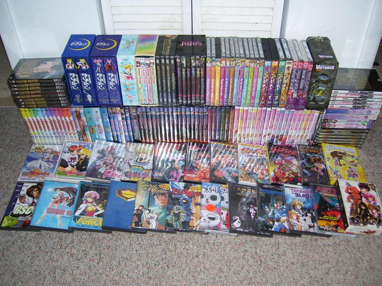 The increasing scarcity of certain domestic anime dvds has surfaced as a topic of conversation in the american otaku community lately